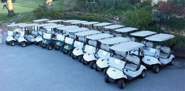 Renovación de su flota RENT de coches Y-G29E por Los Naranjos Club de Golf