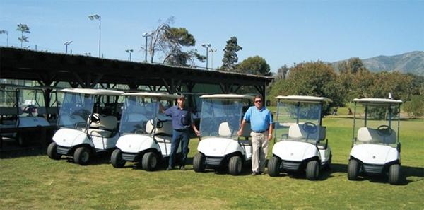 Ampliación de flota de Coches de Golf Yamaha G29 en el Parador de Málaga